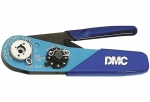 DMC 4-point handcrimping tool for turned male and female contacts
