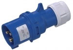 CEE Plug 3-pole 16A/250V 6h 50/60Hz