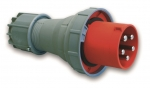 CEE Plug 5-pole 125A/400V 6h 50/60Hz