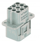 Han Q 8/0 female insert Crimp termination, 0,14 - 4 mm²