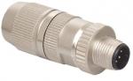 HARAX M12-L Stiftstecker geschirmt 4-polig A-kodiert