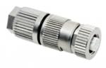HARAX M12-L Buchsenstecker geschirmt 3-polig B-kodiert