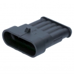 AMP Superseal Housing, male contacts 5-pole