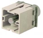 Han axial module 200 PE male insert 25-40mm²