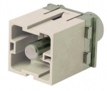 Han 200A PE axial module, male, 40 - 70 mm²
