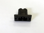 Thermoplastic build-in plug like VDE 0625 / EN 60 320 / C15A / C16A