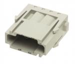 Han E modul male, 0,14-4mm², crimp
