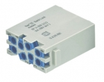 Han EE modul male insert Quick-Lock 0,5-2,5mm²