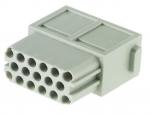 Han DDD modul female insert, 0,14-2,5mm², crimp