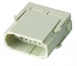 Han High Density modul male insert, 0,08-0,52mm², crimp