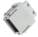 Han adapter modul without D-Sub-insert male insert