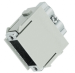 Han adapter modul without D-Sub-insert female insert