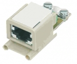 Han-Brid RJ45 C hybrid network connector,