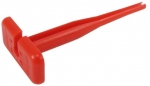 Extraction Tool for Size 20 Contacts red