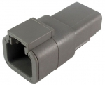 DEUTSCH Receptacle Housing 2-pole DTP-Series