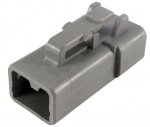 DEUTSCH Housing for female contacts 2-pole DTP-Series