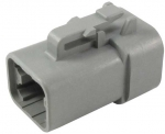 DEUTSCH Housing for female contacts 4-pole DTP-Series