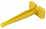 Extraction Tool for Size 12 Contacts yellow