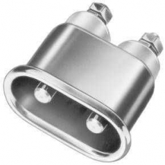 appliance built-in plug DIN 49 491, metal
