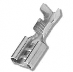 FASTIN-FASTON Receptacle 6,3 x 0,8; 0,5-1,5mm²