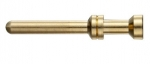 Han A/E pin contact, 0,5 mm², golden plated