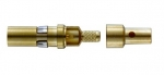 coaxial pin contact 75 Ω acc. to DIN 41626