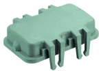 dust protection cover for hoods, with board locks, thermoplastic