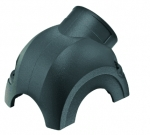 Han-Yellock 30 shell, side entry, 1xM20