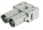 Han 70 A module, male, axial screw, 6 - 16 mm²