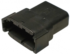 DEUTSCH Receptacle Housing 12-pole DTM-Series B-Coding