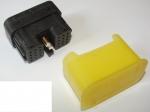 DRC Rechtecksteckverbinder 24-polig Buchsen