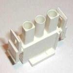 Universal MATE-N-LOK Steckergehäuse 3-polig
