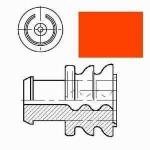 AMP Superseal Einzeladerdichtung rot