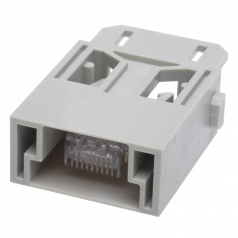 Han RJ45 Module Male Insert for RJ45 Plugs