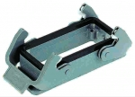 Han 10B surface mounted housing, double locking lever, low construction