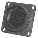 AMP CPC Flange-Receptacle housing for male contacts 37-pole