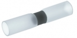 Solder Terminators with shrinking insulation sleeve, white, 0.1-0.5mm²