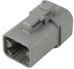 DEUTSCH Housing female contacts 4-pole DTP-Series, E-seal