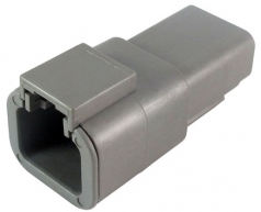DEUTSCH Receptacle Housing 2-pole DTP-Series, E-seal