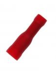 Bullet Female 4mm red
