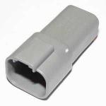 DEUTSCH Steckergehäuse 4-polig DT-Serie, E-seal