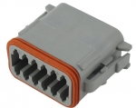 DEUTSCH Housing for female contacts 12-pole DT-Series A-Coding