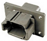DEUTSCH Receptacle Housing 8-pole DT-Series Coding A with Flange