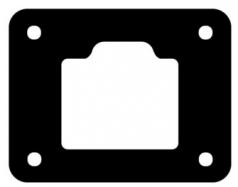 Flanschdichtung für DT04-4P-L012