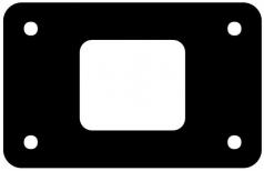 Flanschdichtung für DT04-8Px-L012