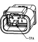 DEUTSCH Steckergehäuse 3-polig DTMH-Serie Kodierung A