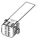 Han3 A RJ45 preLink Anschlussblock AWG 26/27, weiß