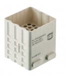 Han DD Quad module male, 0,14 - 2,5 mm², crimp