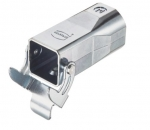 Han 3A EMV cable to cable housing, top entry, 1xM25, single locking lever