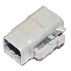 DEUTSCH Housing for female contacts 6-pole DTM-Series